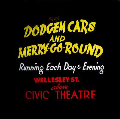 Dodgem cars and Merry-go round