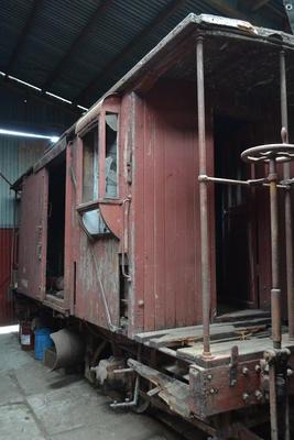 Railway Guards (Plow) van F10