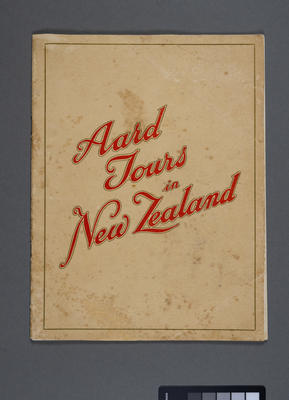 Aard tours in New Zealand (North Island)