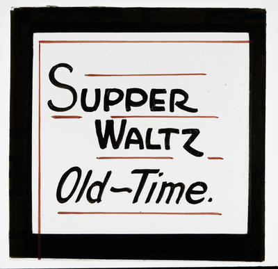 Supper Waltz Old-Time