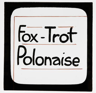Fox-Trot Polonaise