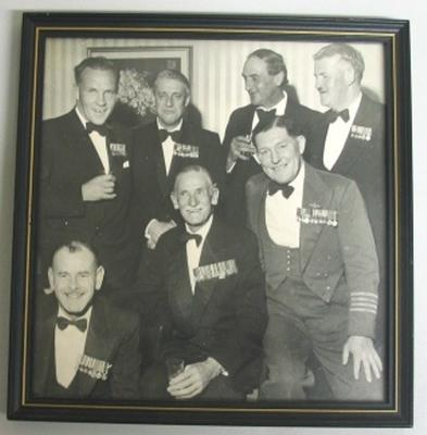 Sir Keith Park with Air Force colleagues at a formal function - function and colleagues