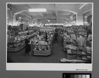 [Interior of George Court Department Store]