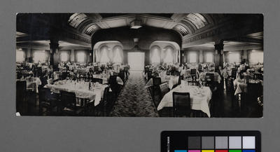 [Interior restaurant dining room]