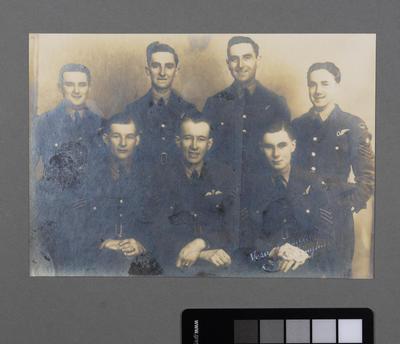 [Studio group portrait of Royal New Zealand Air Force Officers]; Vera Richards; William Raeburn Green; 1941-1944
