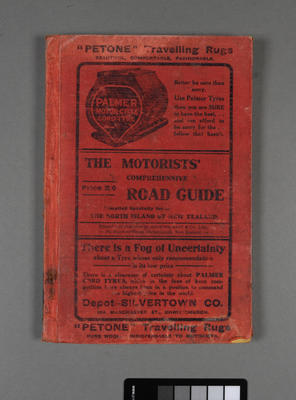 The motorists comprehensive road guide for the North Island of New Zealand with sectional maps; ; 1913