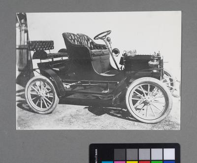 [Print of automobile]