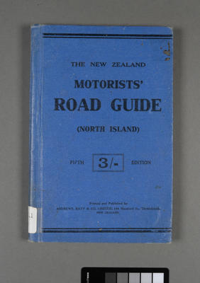 New Zealand motorists' road guide for the North Island; ; 1921