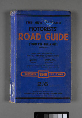 New Zealand motorists' road guide for the North Island; ; 1940