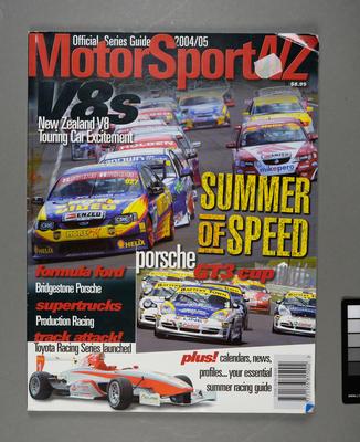 MotorSport NZ Official Series Guide