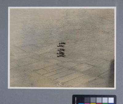 [Aircraft in formation over landscape]