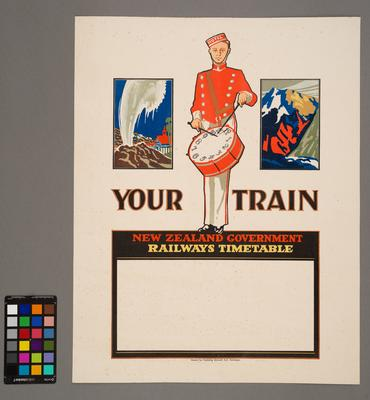 Your Train: New Zealand Government Railways Timetable