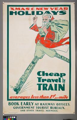 Xmas & New Year Holidays Cheap Travel by Train