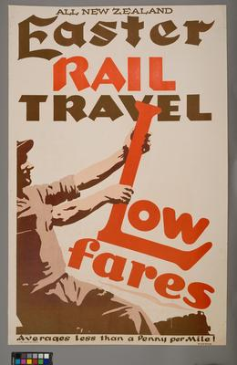 All New Zealand Easter Rail Travel Low Fares: Average less than a Penny per Mile!