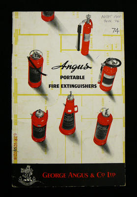Angus portable fire extinguishers
