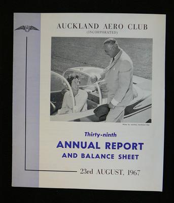 Auckland Aero Club (Inc.) annual report and balance sheet