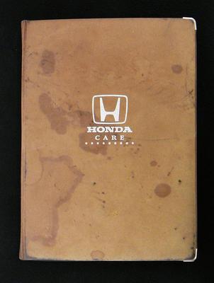 [Honda Accord owner's manual]