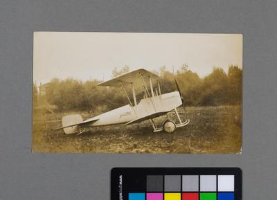 [Print of Hamilton Biplane]