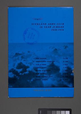 Auckland Aero Club 50 year jubilee 1928 - 1978