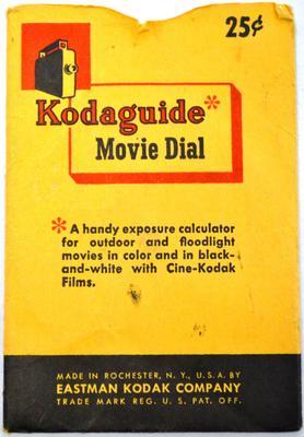 Kodaguide daylight exposure calculator in pocket