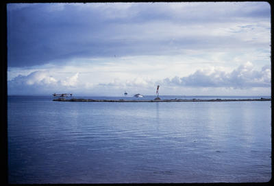[Landscape of an Island bay]