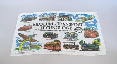Tea Towel [Souvenir, Museum of Transport and Technology]
