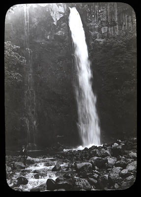 Dawson Falls. Mt. Egmont. New Zealand; New Zealand. Government Tourist Department.; Late 19th Century-Early 20th Century