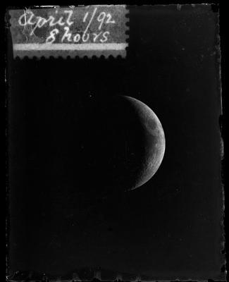 April 1/92 8 hours [Moon]