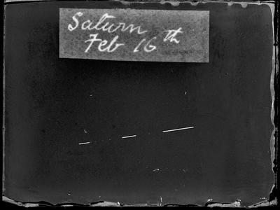 Saturn Feb 16th