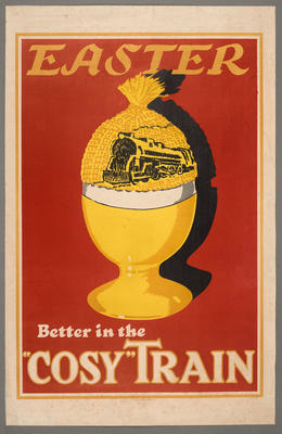 """Easter Better in the """"Cosy"""" Train"""