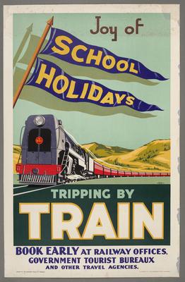 Joy of School Holidays Tripping by Train