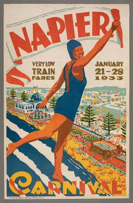 Napier Carnival: very low train fares. January 21 - 29 1933