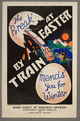 """the """"Break"""" at Easter by train """"Mends"""" you for the Winter"""