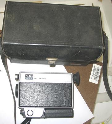 Movie Camera [Kodak M22 Instamatic]