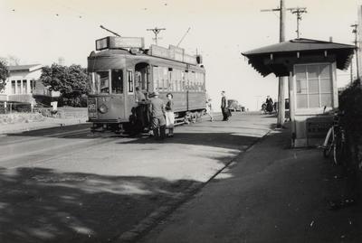 [Tram no. 246 on Sandringham road]
