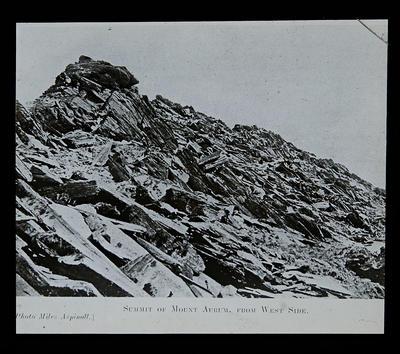 Summit of Mount Aurum, from West side