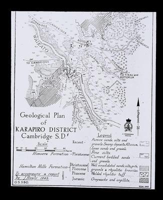1664 Map Karapiro - Healy