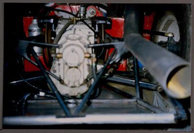 [Heron MK4 GT 40 engine close up]