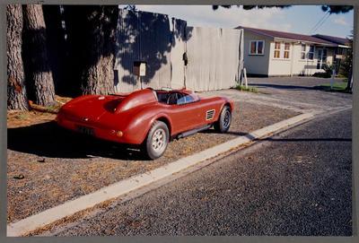 [Porsche Short Spyder replica side view]