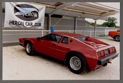 [Red Heron MJ1 at Heron Car Club]; Ross Baker; Unknown; 1983