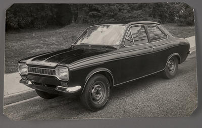 [Ford automobile parked]; Ross Baker; 1950s-1990s