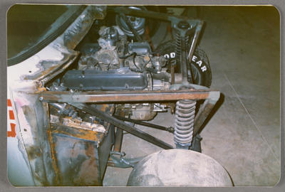 [Engine of automobile]