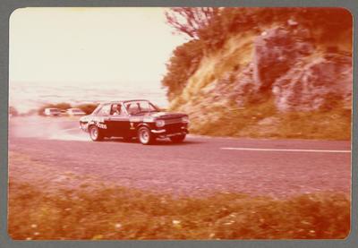 [Ford Escort built by Heron Developments Ltd during race]