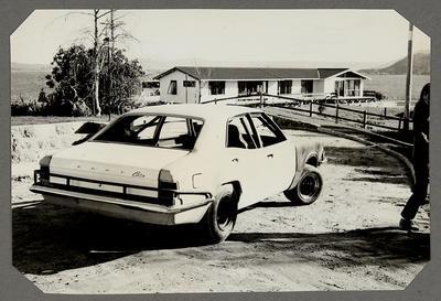 [MK3 Cortina Saloon Car back view]