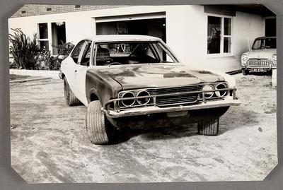 [MK3 Cortina Saloon Car front view]