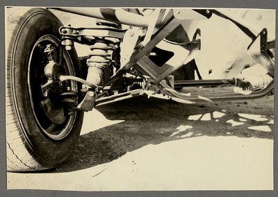 [MK3 Cortina Saloon Car wheel and suspension]