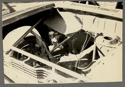 [MK3 Cortina Saloon Car engine bay]
