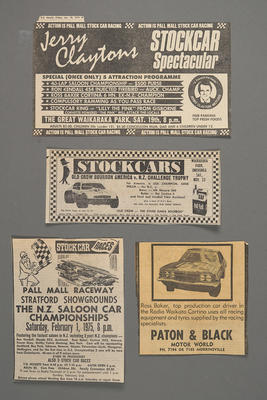 [Newspaper clipping related to MK3 Cortina Saloon car]