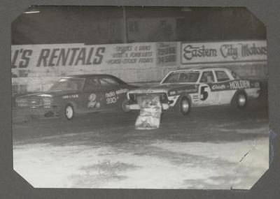 [MK3 Cortina Saloon during race]