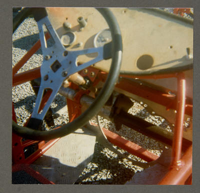 [Heron Sprint MK1 steering wheel and dashboard]